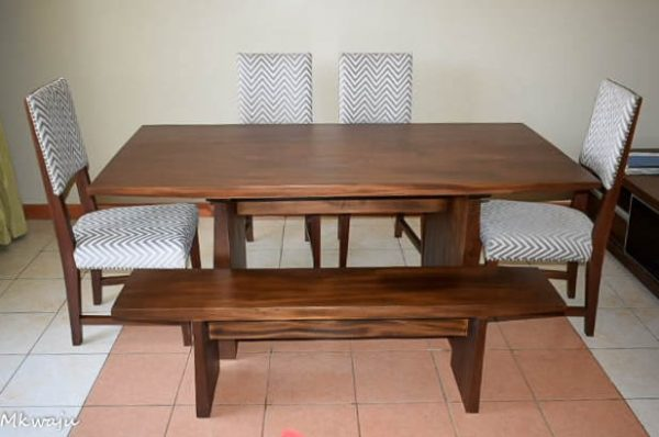 Dexter Dining set by Mkwaju Furniture Makers Nairobi's Leading Furniture Makers.