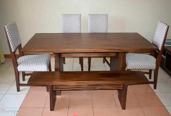 Dexter Dining Set By Mkwaju Furniture Makers Nairobis Leading