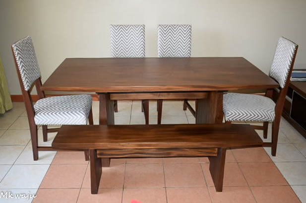 Dining Set By Mkwaju Furniture Makers Nairobis Leading