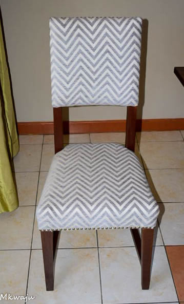 Dexter Dining Seat by Mkwaju Furniture Makers Nairobi's Leading Furniture Makers.