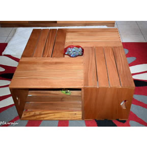 Crate Coffee Table by Mkwaju Furniture Nairobi