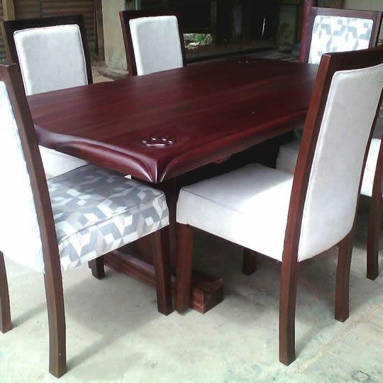 Lion King Dining Set By Mkwaju Furniture
