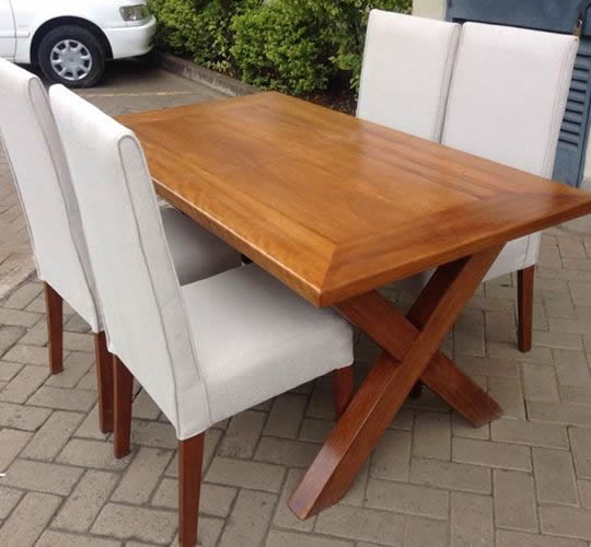 Rhodes Dinning Set By Mkwaju Furniture Nairobi