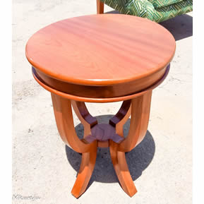 Round Accent Table By Mkwaju Furniture Nairobi