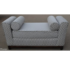 White Faux Bedroom Bench By Mkwaju Furniture Makers Nairobi