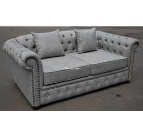 2 Seater fabric sofa by Mkwaju Furniture