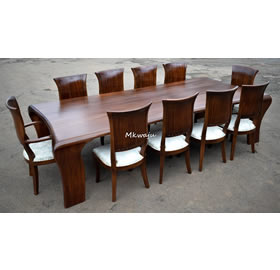 Ten SEater dining furniture Mkwaju Furniture Nairobi