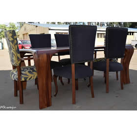 6 Seater Dining Table Mkwaju Furniture Nairobi