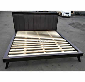 Quality Hard wood bed by Mkwaju Furniture Nairobi