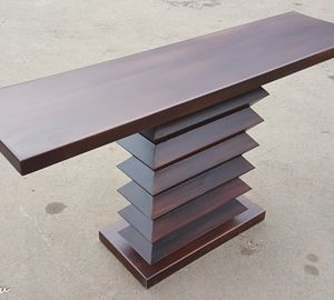 Zig Zag console table Mkwaju Furniture Nairobi