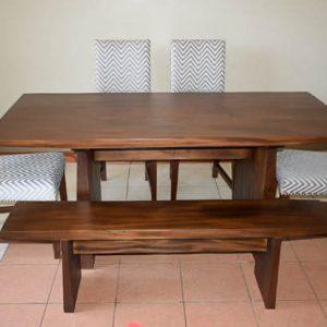 Dexter Dining set by Mkwaju Furniture Makers Nairobi's Leading Furniture Makers.