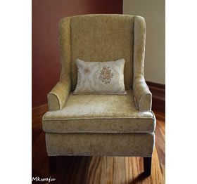 Geilo Wing Back Chair By Mkwaju Furniture Makers Nairobi