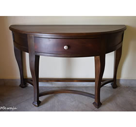 Queen Console Table by Mkwaju Furniture makers